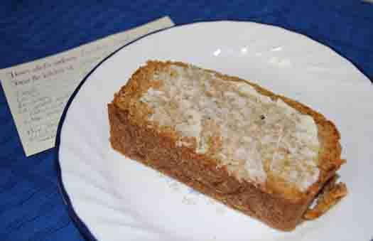 award-winning zucchini bread