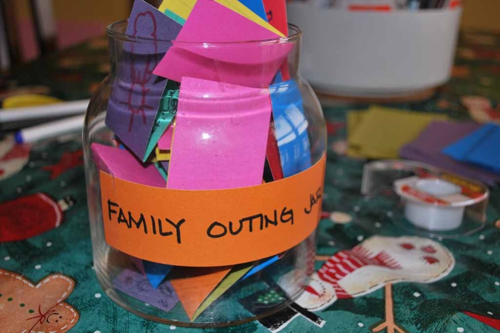 Family Outing Jar