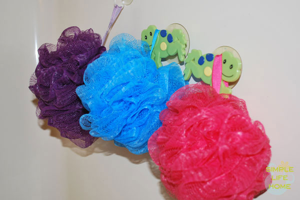 Colored scrunchies