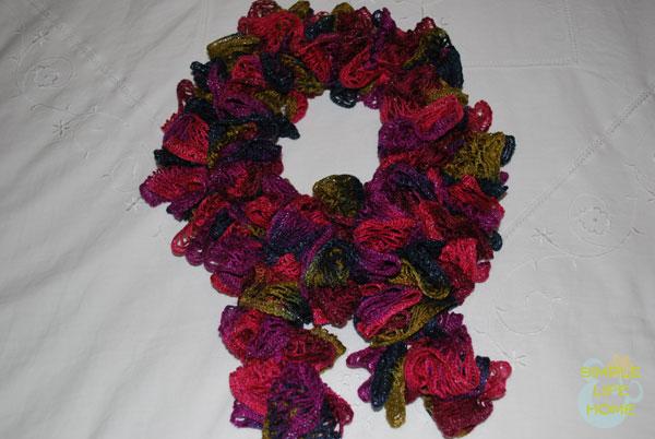 Boa-style sashay scarf