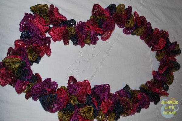 Infinity-style sashay scarf
