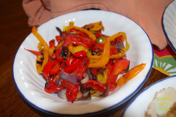 Broiled-peppers