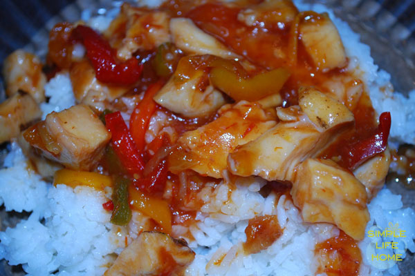 Slow Cooker Sweet & Sour Chicken | Simple Life and Home