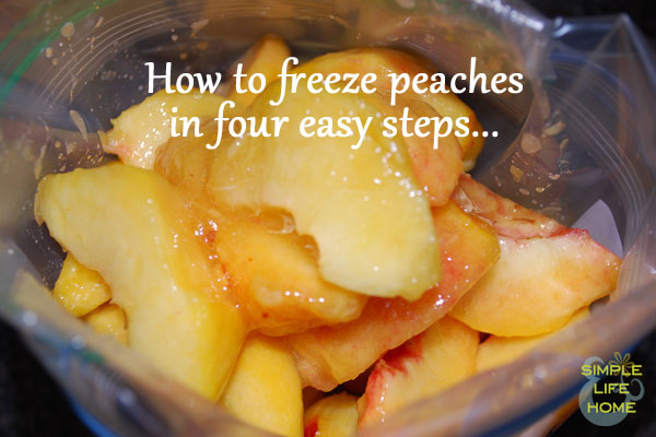 how to freeze peaches in four easy steps