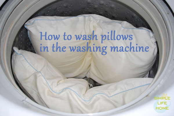 Washing Machine Can You Wash Pillows In The Washing Machine