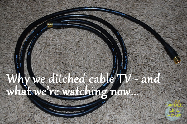 why we ditched cable tv